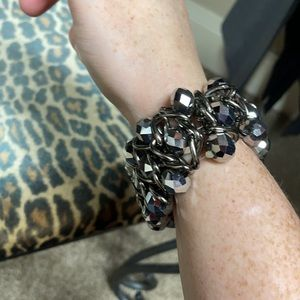 Cache silver color bracelet